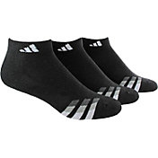 adidas Men's Cushioned Low Cut Athletic Socks 3 Pack