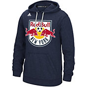 adidas Men's New York Red Bulls Ultimate Fleece Navy Hoodie