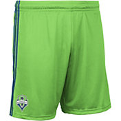 adidas Men's Seattle Sounders Green Authentic Replica Shorts