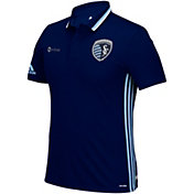 adidas Men's Sporting KC Authentic Polo