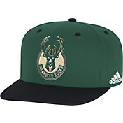 adidas Men's Milwaukee Bucks On-Court Adjustable Snapback Hat