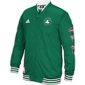 adidas Men's Boston Celtics On-Court Kelly Green Warm-Up Full-Zip Jacket