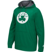 adidas Men's Boston Celtics climawarm Playbook Kelly Green Hoodie