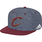 adidas Men's Cleveland Cavaliers Grey Adjustable Snapback Hat