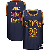 adidas Men's Cleveland Cavaliers LeBron James #23 Alternate Navy Swingman Jersey