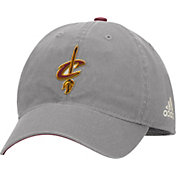 adidas Men's Cleveland Cavaliers Slouch Grey Adjustable Hat
