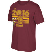 adidas Men's 2016 NBA Champions Cleveland Cavaliers Burgundy T-Shirt