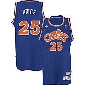 adidas Originals Men's Cleveland Cavaliers Mark Price #25 Royal Throwback Swingman Jersey