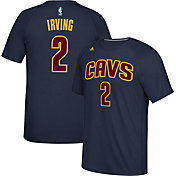 adidas Men's Cleveland Cavaliers Kyrie Irving #2 climalite Navy T-Shirt