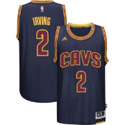 adidas Men's Cleveland Cavaliers Kyrie Irving #2 Alternate Navy Swingman Jersey