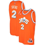 adidas Men's Cleveland Cavaliers Kyrie Irving #2 Alternate Orange Swingman Jersey