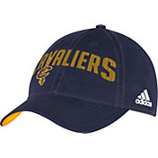 adidas Men's Cleveland Cavaliers Wordmark Slouch Navy Adjustable Hat
