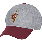 adidas Men's Cleveland Cavaliers Structured Grey Flex Hat