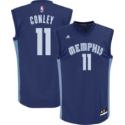 adidas Men's Memphis Grizzlies Mike Conley #11 Road Navy Replica Jersey
