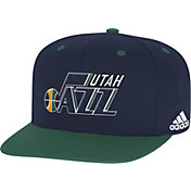 adidas Men's Utah Jazz On-Court Adjustable Snapback Hat
