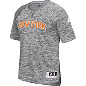 adidas Men's New York Knicks On-Court Grey Shooting Shirt