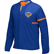 adidas Men's New York Knicks On-Court Royal Jacket
