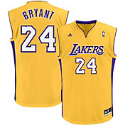 adidas Men's L.A. Lakers Kobe Bryant #24 Home Gold Replica Jersey