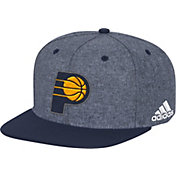 adidas Men's Indiana Pacers Grey Adjustable Snapback Hat