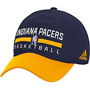 adidas Men's Indiana Pacers Practice Performance Adjustable Hat