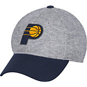 adidas Men's Indiana Pacers Structured Grey Flex Hat