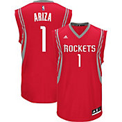 adidas Men's Houston Rockets Trevor Ariza #1 Road Red Replica Jersey