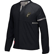 adidas Men's San Antonio Spurs On-Court Black Jacket