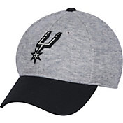 adidas Men's San Antonio Spurs Structured Grey Flex Hat