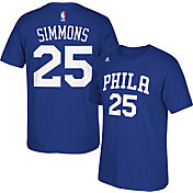 adidas Men's Philadelphia 76ers Ben Simmons #25 Royal T-Shirt
