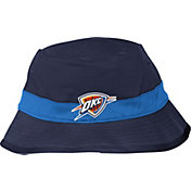 adidas Men's Oklahoma City Thunder Striped Navy Bucket Hat