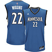 adidas Men's Minnesota Timberwolves Andrew Wiggins #22 Road Blue Replica Jersey
