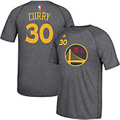 adidas Men's Golden State Warriors Steph Curry #30 climalite Grey T-Shirt