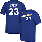 adidas Men's Golden State Warriors Draymond Green #23 climalite Royal T-Shirt