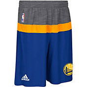 adidas Men's Golden State Warriors Pre-Game Royal Shorts