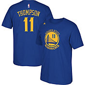 adidas Men's Golden State Warriors Klay Thompson #11 Royal T-Shirt