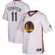 adidas Men's Golden State Warriors Klay Thompson #11 Home White Replica Jersey