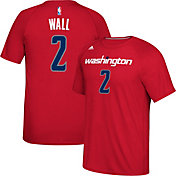 adidas Men's Washington Wizards John Wall #2 climalite Red T-Shirt