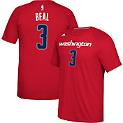 adidas Men's Washington Wizards Bradley Beal #3 climalite Red T-Shirt