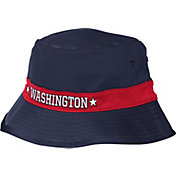 adidas Men's Washington Wizards Striped Navy Bucket Hat