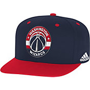 adidas Men's Washington Wizards On-Court Adjustable Snapback Hat
