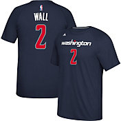 adidas Men's Washington Wizards John Wall #2 climalite Navy T-Shirt