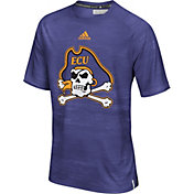 adidas Men's East Carolina Pirates Purple Sideline Training T-Shirt