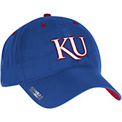 adidas Men's Kansas Jayhawks Blue Sideline Coaches Adjustable Slouch Hat