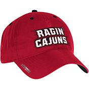 adidas Men's Louisiana-Lafayette Ragin' Cajuns Red Sideline Coaches Adjustable Slouch Hat