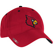 adidas Men's Louisville Cardinals Red Sideline Coaches Adjustable Slouch Hat