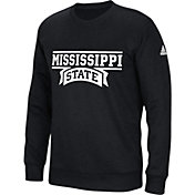 adidas Men's Mississippi State Bulldogs 'Mark My Words' Crew Neck Black Sweatshirt