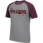 adidas Men's Bulldogs Grey Short Sleeve Baseball T-Shirt