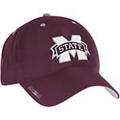adidas Men's Mississippi State Bulldogs Maroon Sideline Coaches Adjustable Slouch Hat