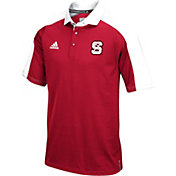 adidas Men's NC State Wolfpack Red/Black Sideline Performance Polo