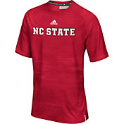 adidas Men's NC State Wolfpack Red Sideline Training T-Shirt